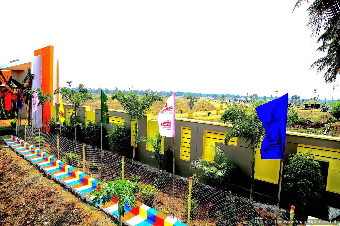 Golden Bird Highway Facing VUDA Approved Layout at Bhogapuram