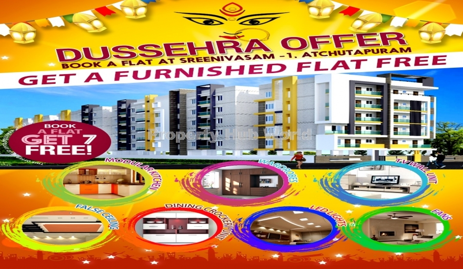 Rera Approved Flats for Sale at Atchuthapuram