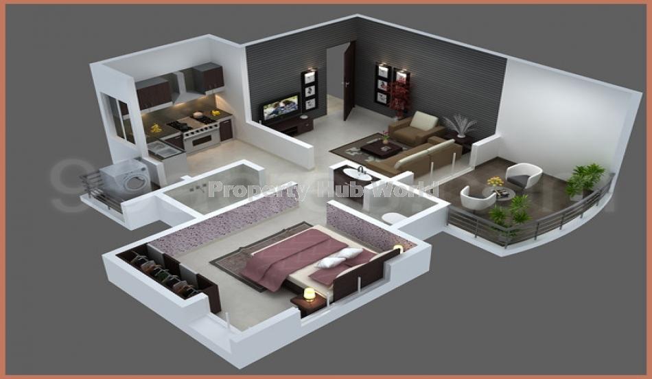 3bhk flat in ananda platinum apartment