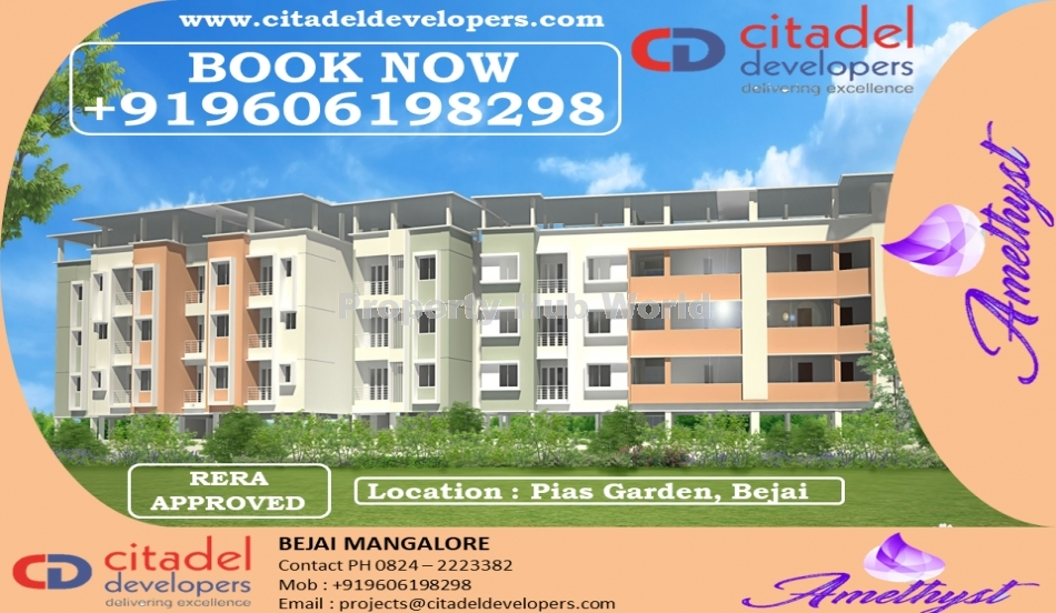 2BHK and 3BHK flats available for sale in Mangaluru