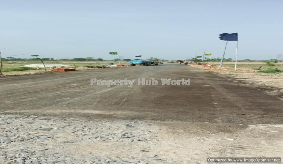 Plot in township sultanpur Lucknow Road