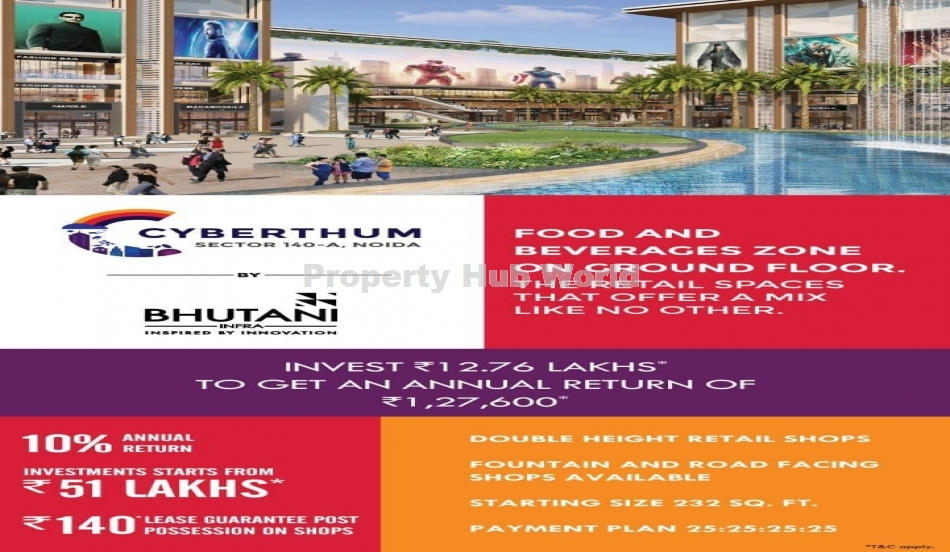 Best Commercial Project in Noida with 12% Assured Return and 8% Lease Guaranteed after Possession