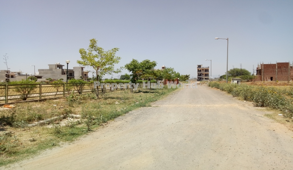 GMADA 150 square yards Park facing residential plot is available for sale in Block I Aerocity Mohali, at a prime location