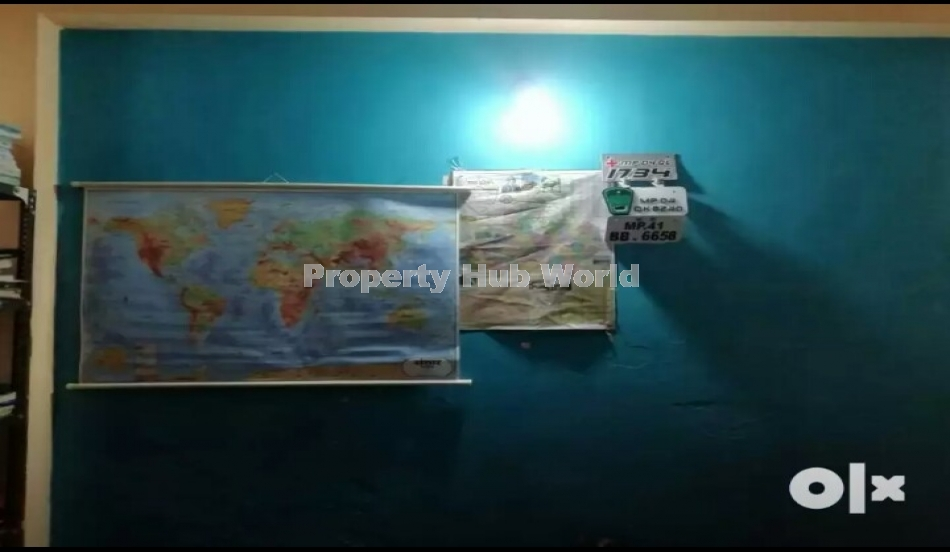 2 BHK Flat with big parking and garden in covered campus