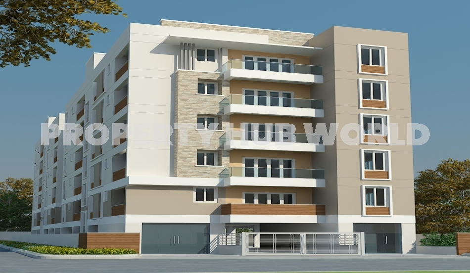 3 BHK NEW FLAT FOR SALE IN MURUGESHPALYA