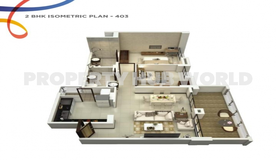 Specious  2BHK Flat For Sale In Balewadi By a Reputed Builder