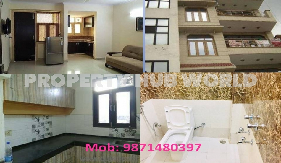 1bhk flat furnished or semi furnished for rent in chattarpur