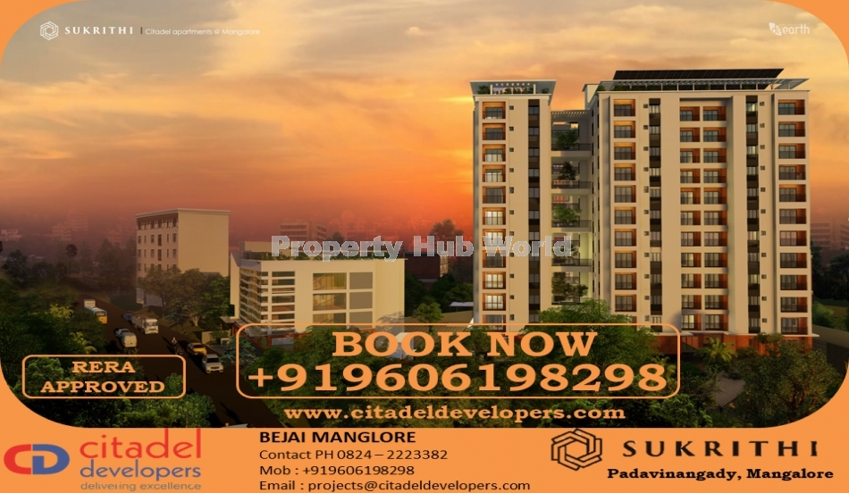 2BHK and 3BHK Flats for sale in Mangalore, Bejai