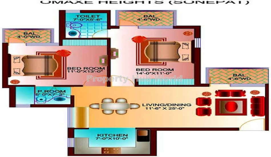 2bhk flat available in sonipat