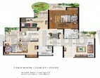 3 bhk flat in ajnara grand heritage sector 74 noida in Noida